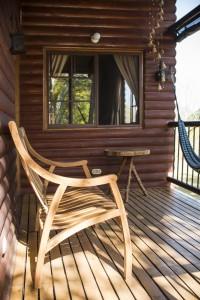 Cabana 1 - balcon