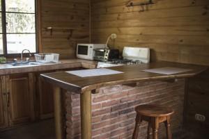 Cabana 1 - cocina
