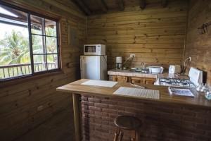 Cabana 3 - cocina