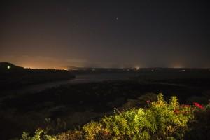 El Mirador - vista panoramica noche