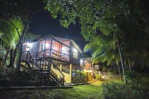 Las tres cabanas - noche